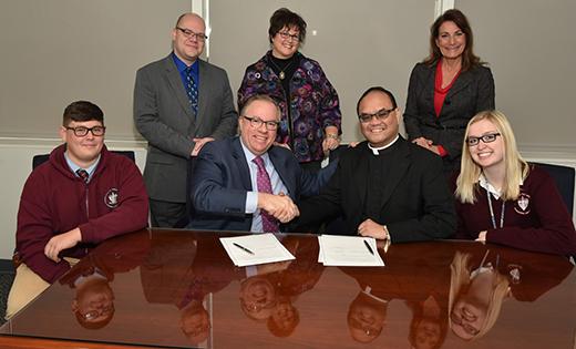 Neumann University partnership