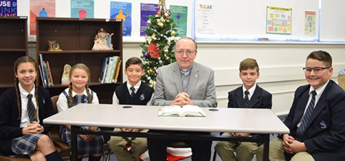 Deacons aid faith formation at Vineland school