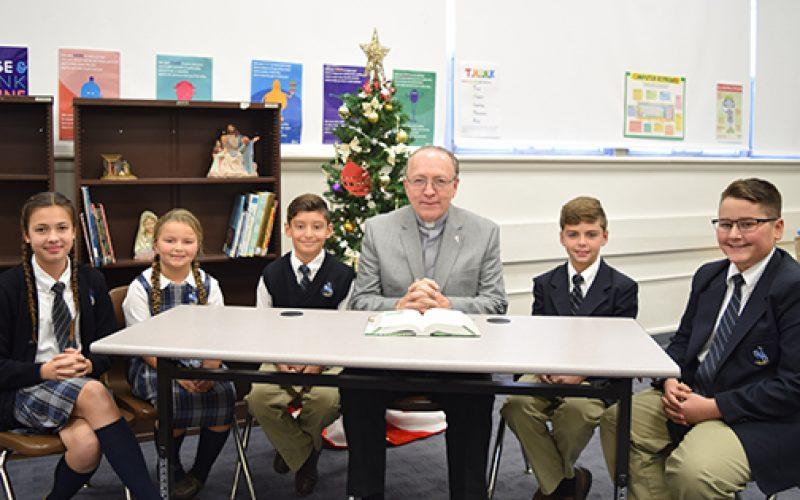 Deacons aid faith formation at Vineland school