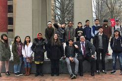 Campus tour opens doors for refugee teens