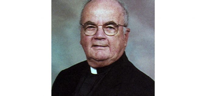 Father Anderson, retired pastor and chaplain, dies