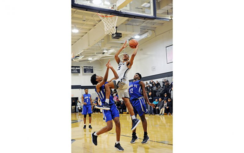 Boys' B-Ball playoffs
