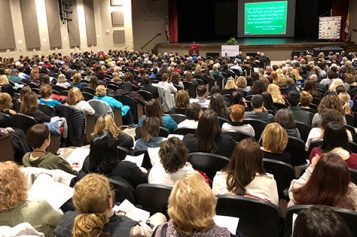 Teachers gather for inspiration, formation