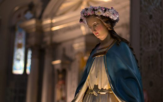 Mary is the mother of the Church