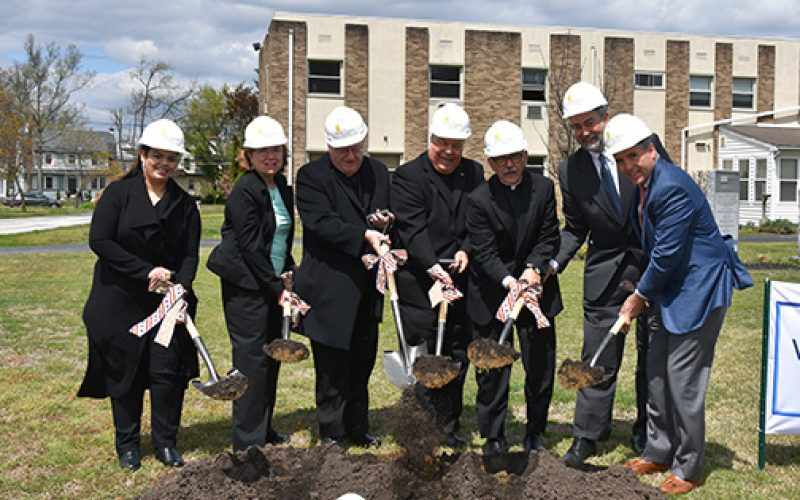 Bishop helps break ground for Stonegate Phase II