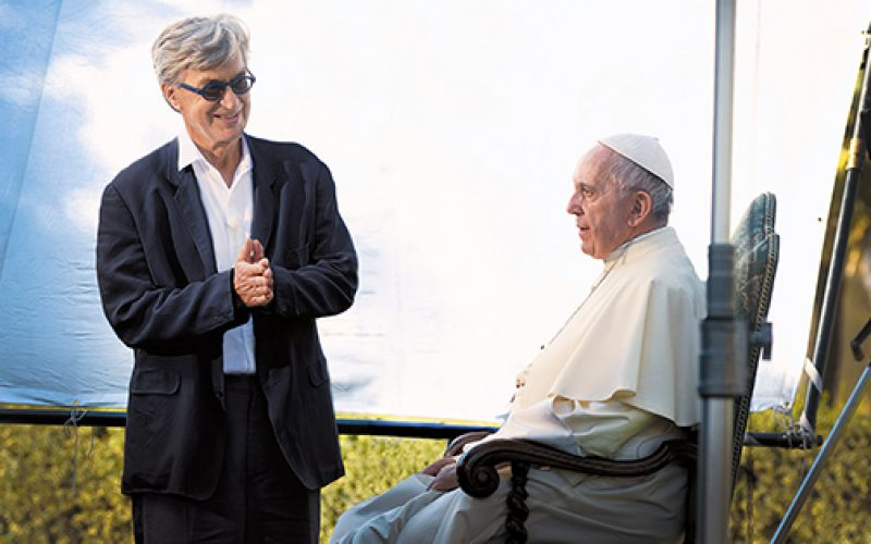 The shared vision of the pope and the film director