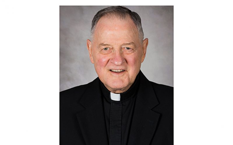 Father Kenneth Johnston, retired pastor and principal, dies
