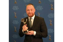 Young producer wins New England Emmy