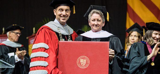 Honorary doctorate