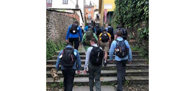 Seminarians reflect while on pilgrimage
