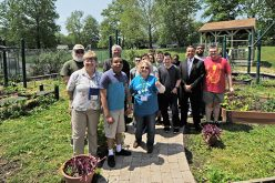 The community garden at Saint John of God
