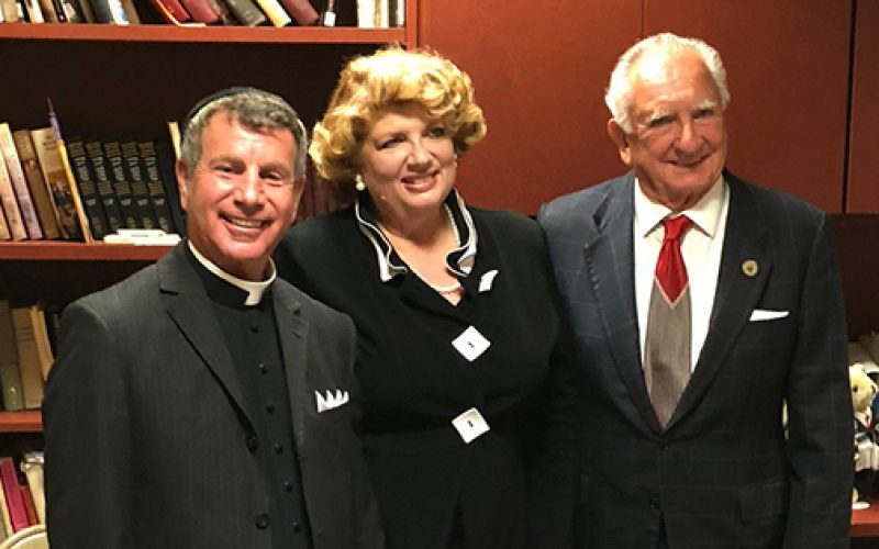 Father Wallace and others honored at interfaith service