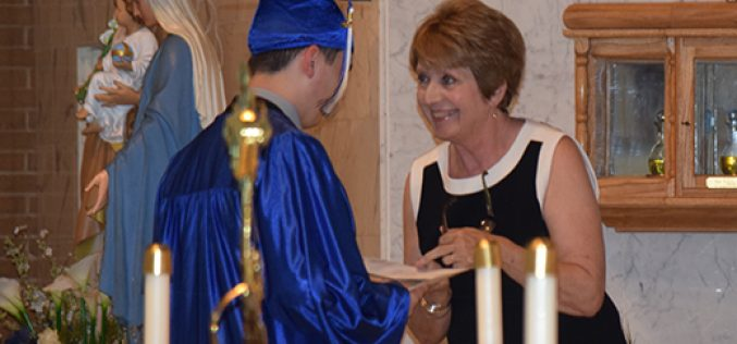 Saint Mary graduate wins Young Catholic Leader award