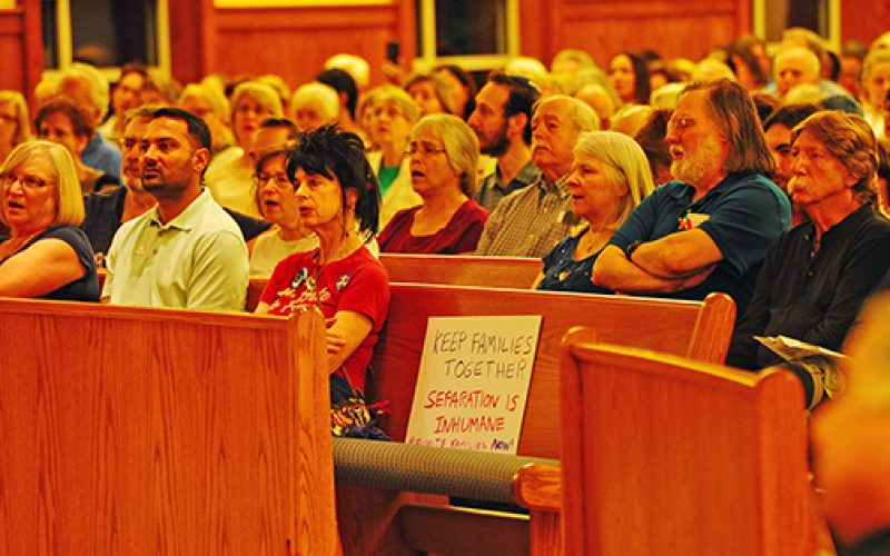 Rally gives voice to concern for immigrant children
