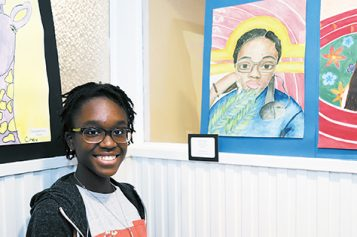 Art by students, on display in Cape May