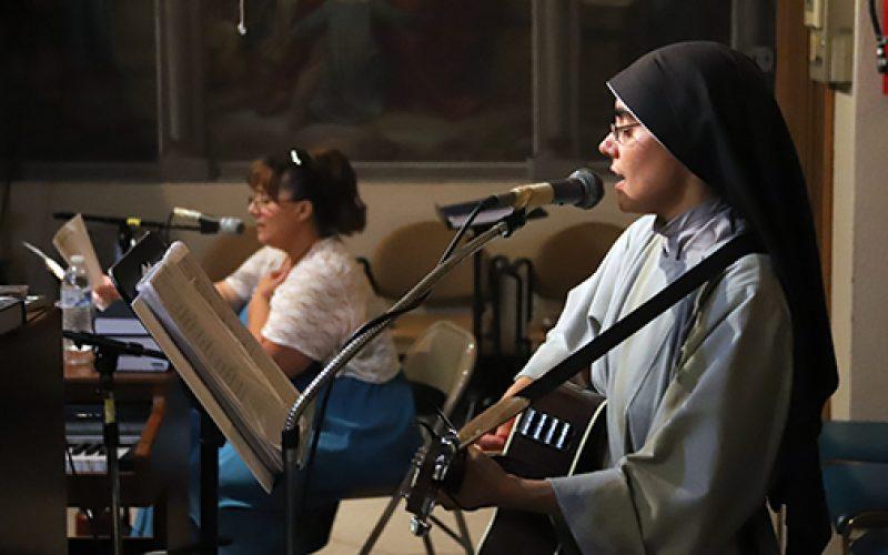 A night of prayer, praise and street evangelization