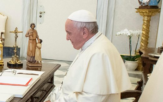 The pope's challenge for the church to be 'more synodal'