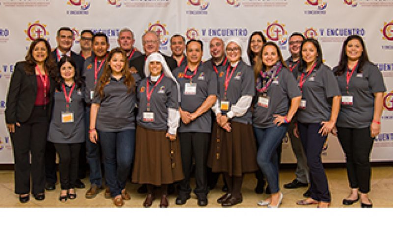 Local delegation joins Hispanic Catholic leaders from across the United States at V Encuentro