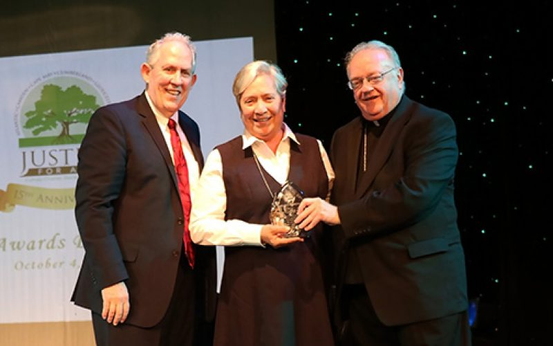 Diocese honors an advocate for immigrants