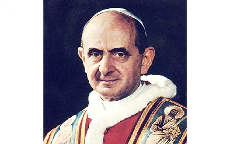 School to celebrate the canonization of Pope Paul VI