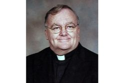 Father John P. Ward, retired pastor, dies