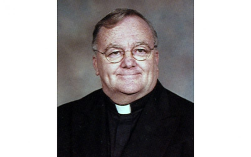 Father John P. Ward, retired pastor, dies