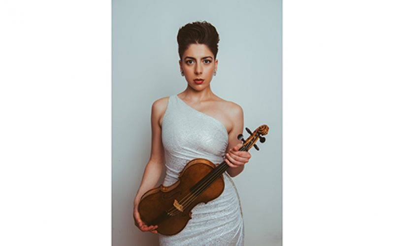 Violinist to record in home of her musical upbringing