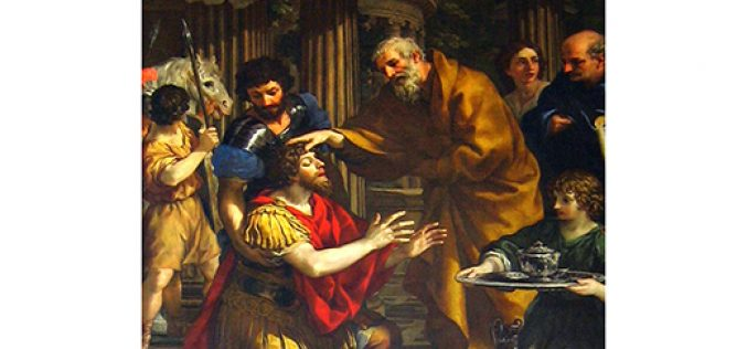 Ananias of Damascus, a saintly, unsung hero