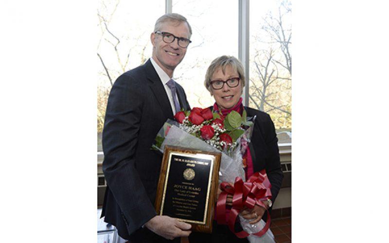 Sister Elizabeth Corry Award winner named