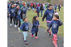 Crowds turn out to walk, run and pray for vocations