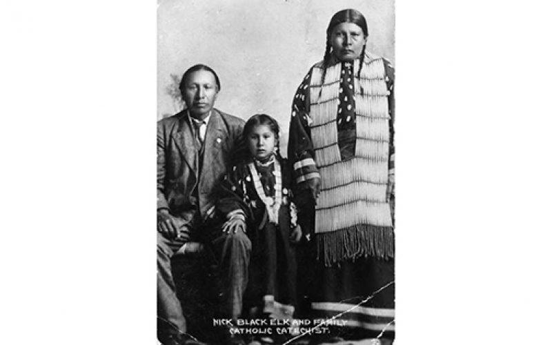 Nicholas Black Elk's gift of sweetgrass