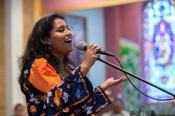 Singing her praises