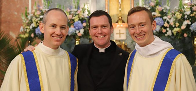 Men ordained to the transitional diaconate