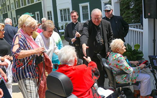 Rededication ceremony in Cape May