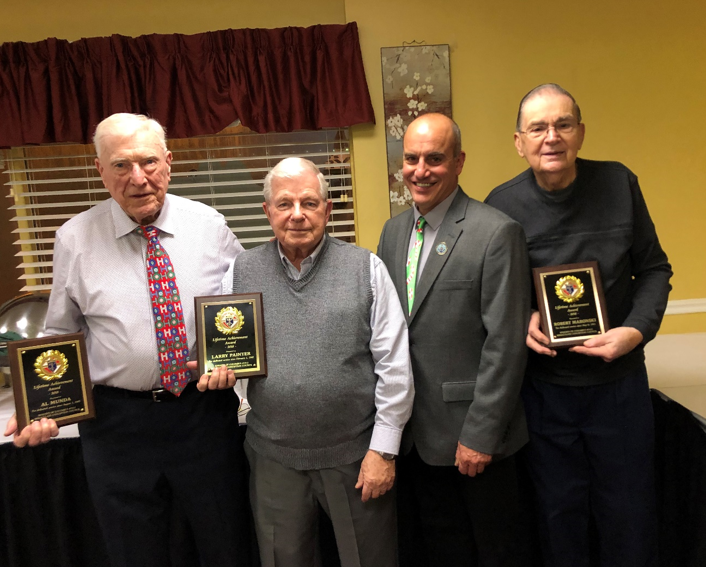 Council 3512 Honors Brothers with 125 years of combined service