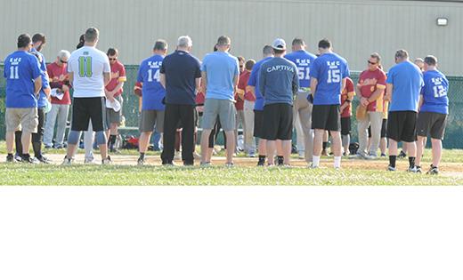 Parish softball